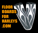 Floorboards for Harleys logo
